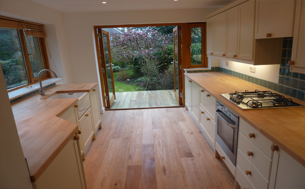 Builders in edinburgh kitchen extensions edinburgh for Garage extension ideas